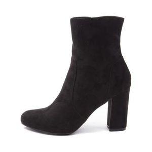 Womens Madden Girl Fancie Boot - Black